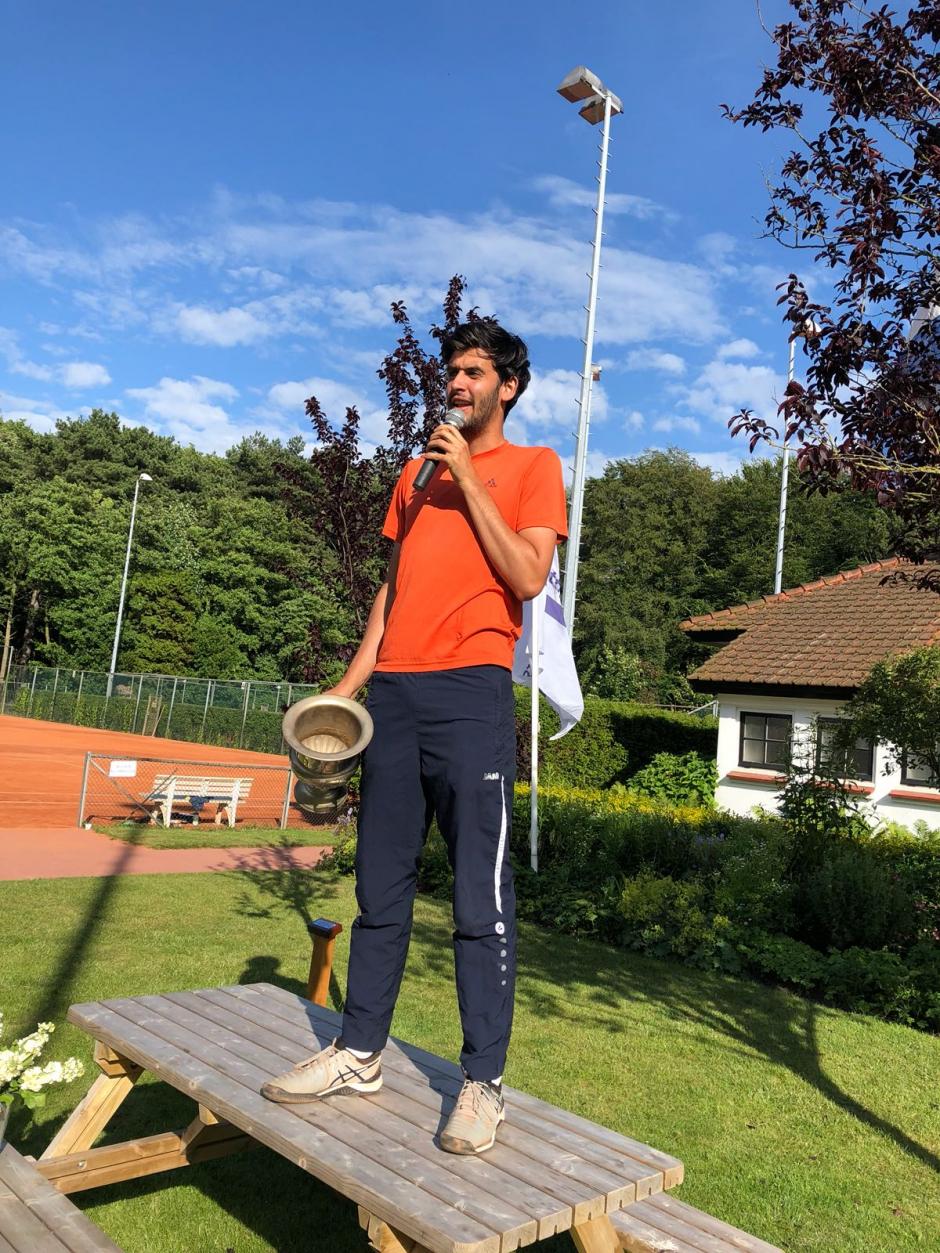 Mick studentenclubkampioen 2018