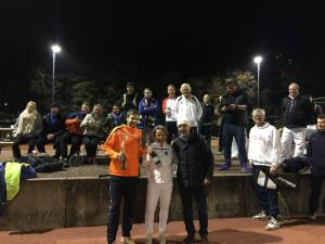 De winnaars LBC Meets Toptennis Dubbeltoernooi